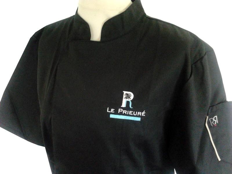 Achat veste cuisine robur veste de cuisine femme veste for Veste cuisine robur