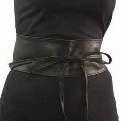 ceinture a nouer cuir noir,ceinture a nouer mango,ceinture nouer large f1edbd6a335