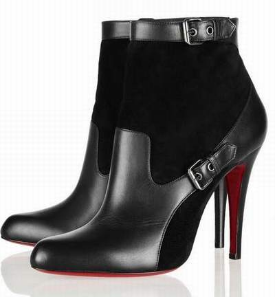 botte louboutin occasion