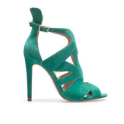 3b8fac00c4f6b9 chaussures zara printemps 2014,chaussure zara verte,chaussures zara cuir