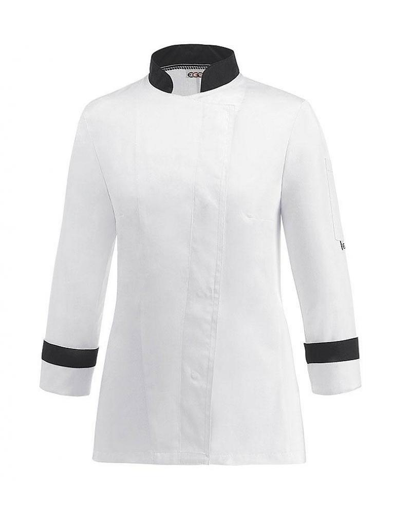 Veste de cuisine au maroc veste de cuisine siaka veste de for Veste de cuisine homme brode