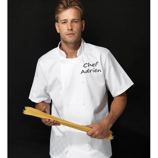 veste pour cuisinier homme veste de cuisine col mao veste de cuisine facon chemise. Black Bedroom Furniture Sets. Home Design Ideas